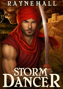 STORM DANCER Rayne Hall cover published 11Jan13 reducedforkobo