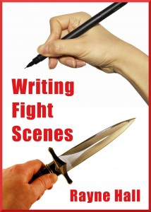 Writing Fight Scenes - Rayne Hall cover Jan2012 reduced