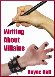 Writing about Villains Rayne Hall - cover Dec12 reduced
