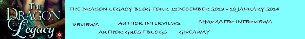 The Dragon Legacy  Blog  Tour Banner
