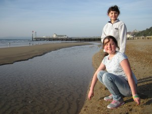 Sea Shell Hunting During Half-Term